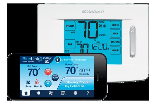BlueLink Model 7320 Thermostat | Braeburn Systems