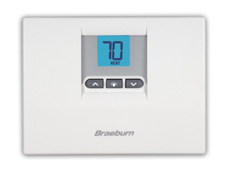 Builder Model 1000 Thermostat   Braeburn SystemsBraeburn Systems