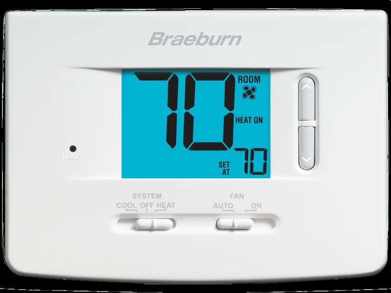 economy model 1020 thermostat braeburn systems rh braeburnonline com Braeburn 1020 Thermostat Wiring Diagram Braeburn 1000 Thermostat Manual Model
