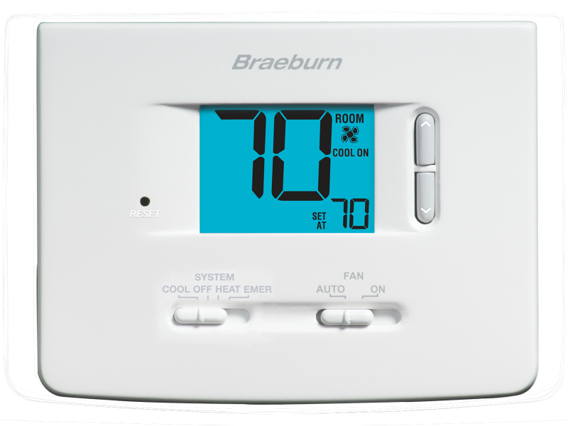 builder model 1220nc thermostat braeburn systems rh braeburnonline com braeburn 3200 thermostat wiring diagram braeburn thermostat 1020 wiring diagram