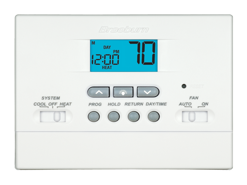 Builder Model 2000nc Thermostat Braeburn Systems