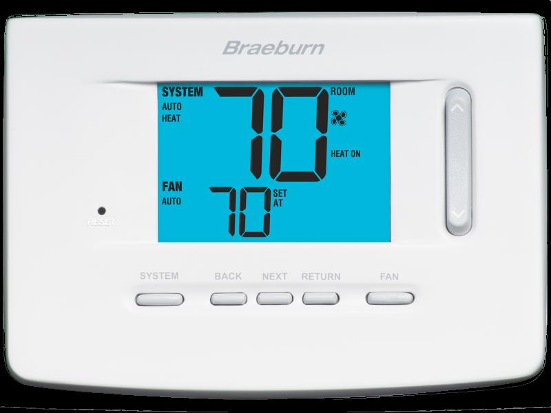 premier model 3220 thermostat braeburn systems rh braeburnonline com 6 Wire Thermostat Wiring Diagram Honeywell RTH111 Thermostat Wiring Diagram