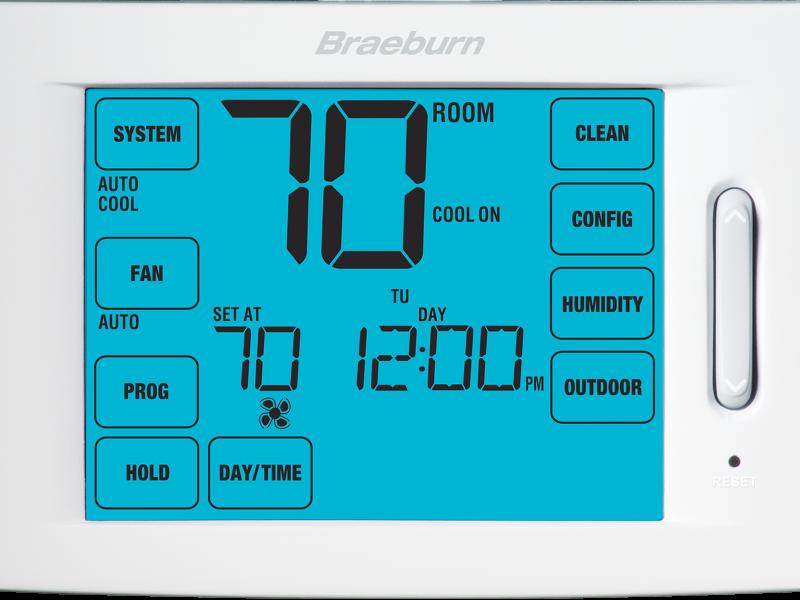 Touchscreen Model 6400 Thermostat | Braeburn Systems